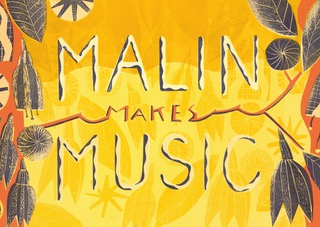 Malin Makes Music book cover