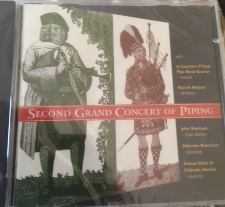 Second Grand Concert of Piping