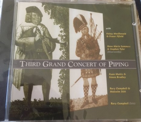 Third Grand Concert of Piping